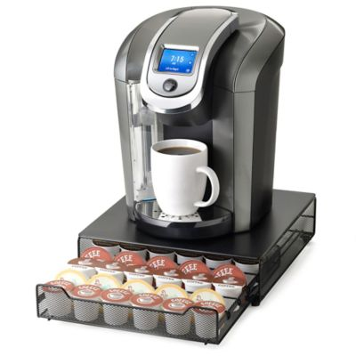 Nifty™ Adjustable 36-Cup Coffee Pod Rolling Drawer