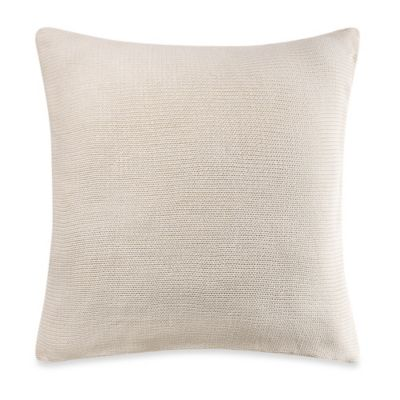 Kenneth Cole Reaction Home Mineral European Pillow Sham in Ivory
