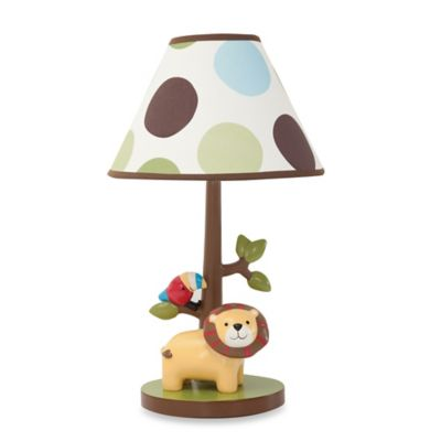Lambs & Ivy® Treetop Buddies Lamp Base with Shade and Bulb