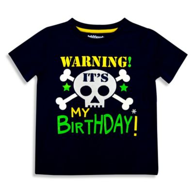 Kidtopia Size 2T Warning! It's My Birthday! T-Shirt