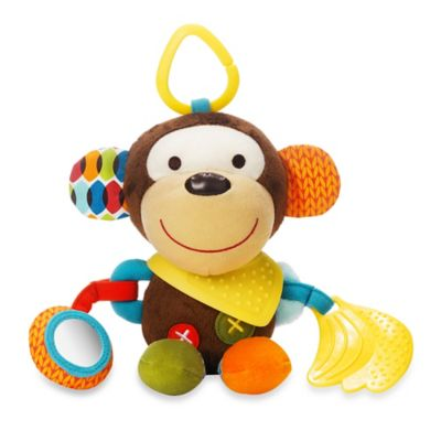 SKIP*HOP® Bandana Buddies Animal Activity Toy in Milo the Monkey