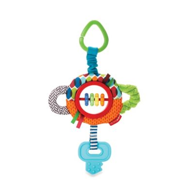SKIP*HOP® Rattle & Play Tug & Clatter Key Stroller Toy