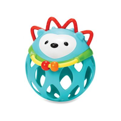SKIP*HOP® Explore & More Roll Around Rattle in Hedgehog