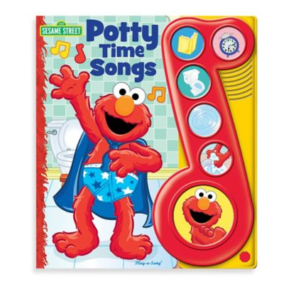 Elmo Potty Time Songs Board Book