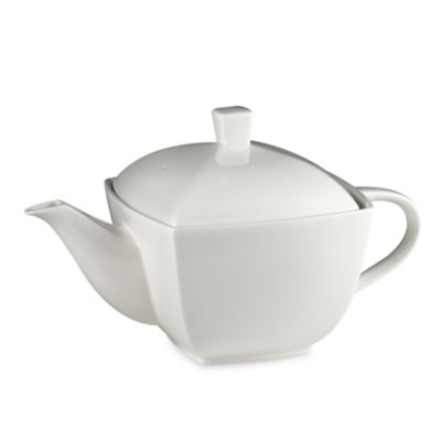 Elegance White 32-Ounce Tea Server