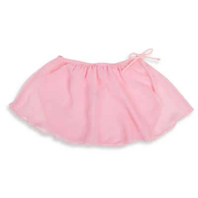 Jacques Moret Size 4/5T Mock Wrap Skirt in Pink