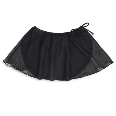 Jacques Moret Size 4/5T Mock Wrap Skirt in Black