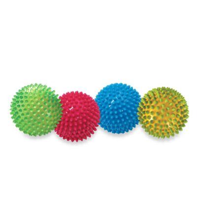 Edushape® 4-Piece Multi-Sensory Balls Set