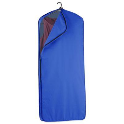 WallyBags® 52-Inch Dress Length Garment Bag in Royal Blue