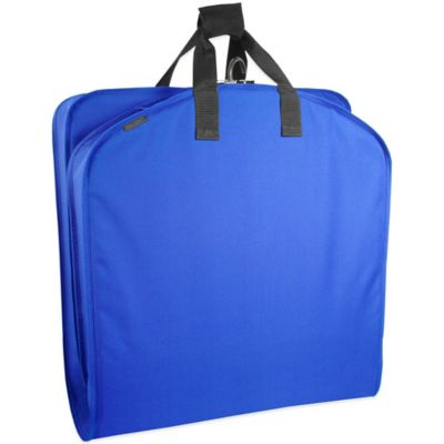 WallyBags® 40-Inch Suit Length Garment Bag in Royal Blue