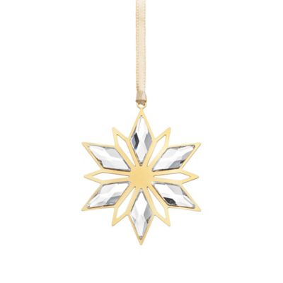 Golden Star Ornament in Swarovski® Crystal