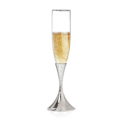 Nambe Dazzle Toasting Flutes (Set of 2)