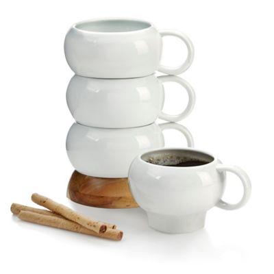 Nambe Bulbo Mug Stack (Set of 4)
