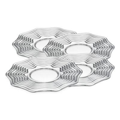 Godinger Capri Dessert Plates (Set of 4)