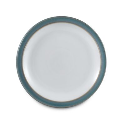 Azure Patterned Salad Plate
