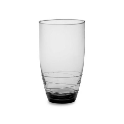 Mikasa® Swirl Highball Glass in Smoke