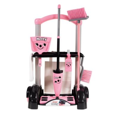 Hetty Cleaning Trolley in Pink