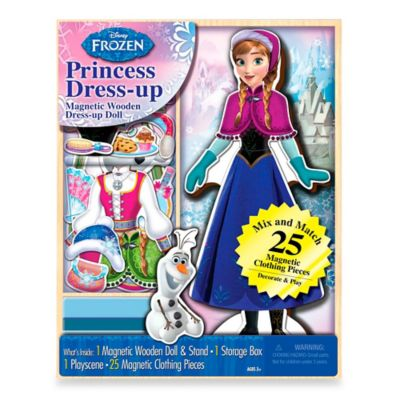 Disney® Frozen Anna Mix-and-Match 25-Piece Dress-Up Playset