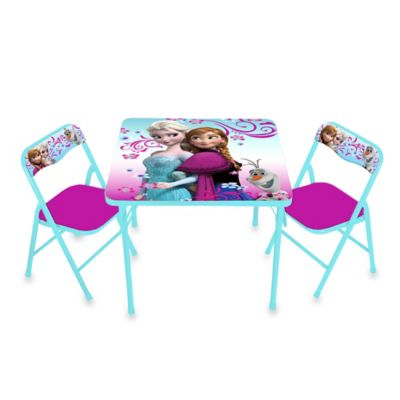 Disney® Frozen Activity Table and Chair Set