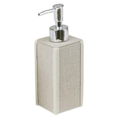 Grasscloth Lotion Dispenser