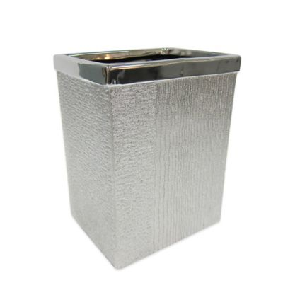 Croscill® Roebling Stripe Wastebasket