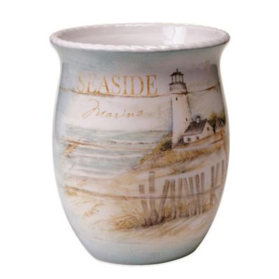 Seaside Cottage Wastebasket