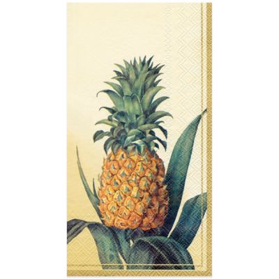 Pineapple 16-Pack Disposable Guest Towels