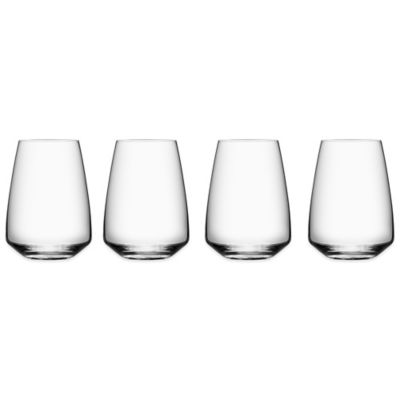 Orrefors Pulse Stemless Wine Glass (Set of 4)