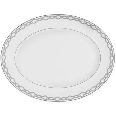 Monique Lhuillier Waterford® Embrace 13-1/2-Inch Medium Oval Platter