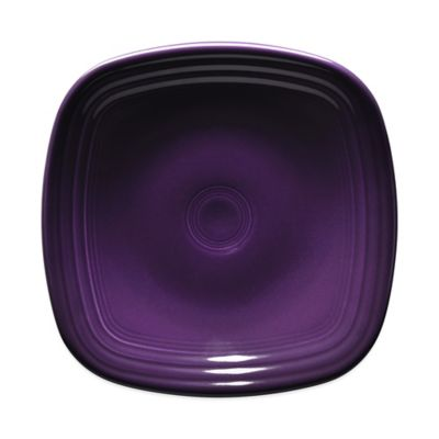 Fiesta® Square Luncheon Plate in Plum