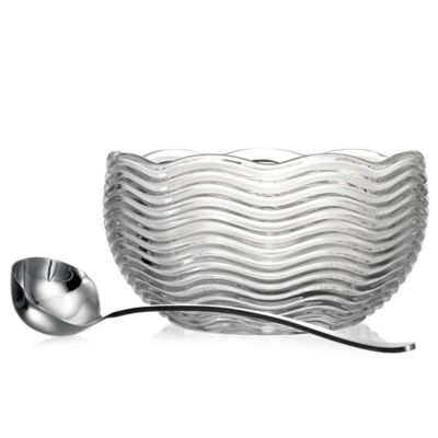 Godinger Capri Punch Bowl with Ladle