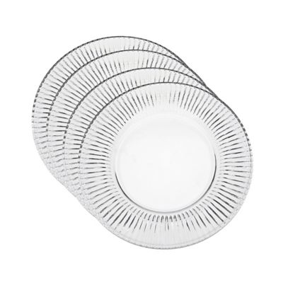 Godinger Fire & Ice Dessert Plates (Set of 4)