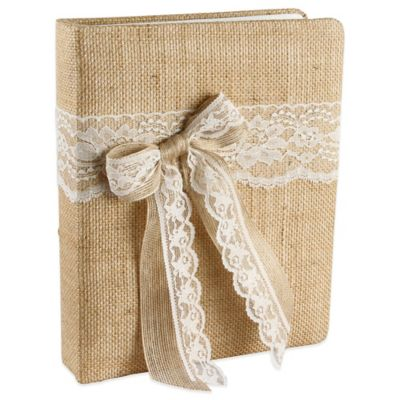 Ivy Lane Design Country Romance Memory Book in Ivory