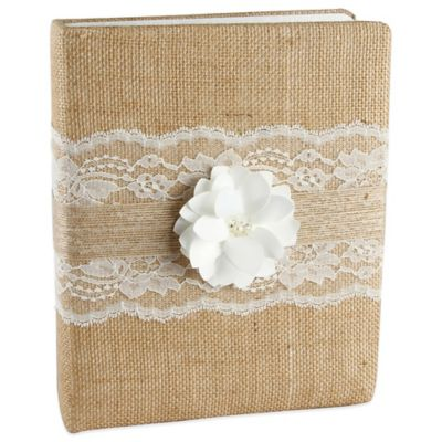 Ivy Lane Design™ Rustic Garden Memory Book in Ivory