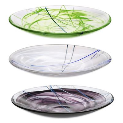 Decorative Glass Platters