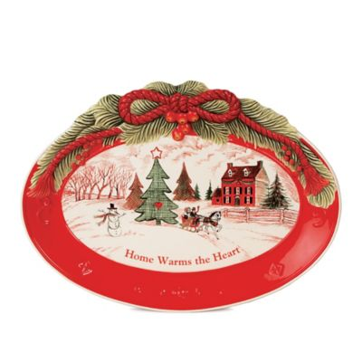"Fitz and Floyd® ""Home Warms the Heart"" Sentiment Tray"