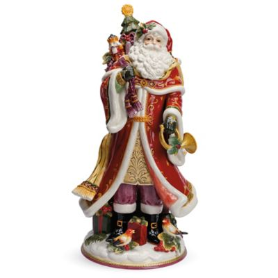 Fitz and Floyd® Regal Holiday Santa Figurine