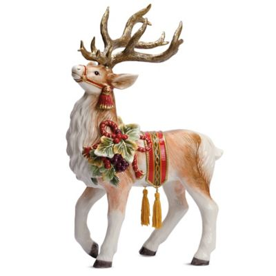 Fitz and Floyd® Regal Holiday 18-Inch Deer Figurine