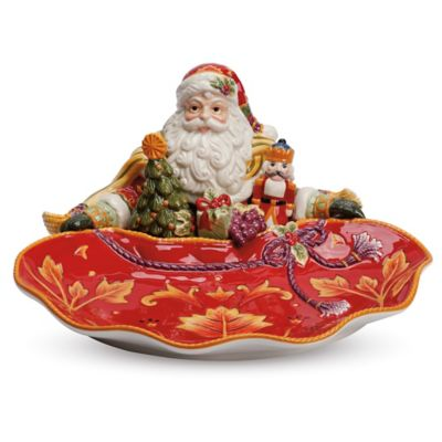 Fitz and Floyd® Regal Holiday 12-3/4-Inch Santa Server