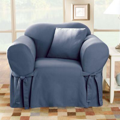 Sure Fit® Duck Supreme Cotton Chair Slipcover