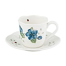 Lenox® Butterfly Meadow® 8 oz. Demitasse Cup and Saucer Set