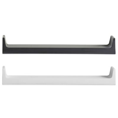 Real Simple® 22-Inch Single Aero Shelf in Black