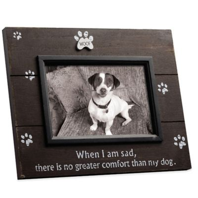 4 inches Brown Wood Frame