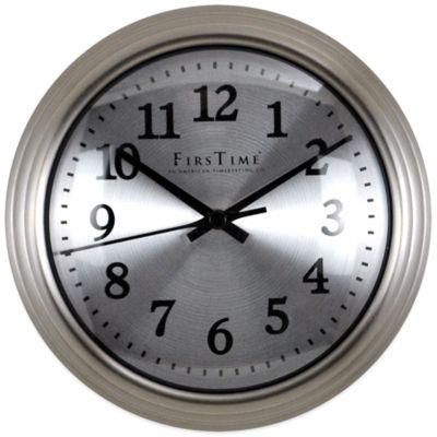 Plastic Metal Wall Clock