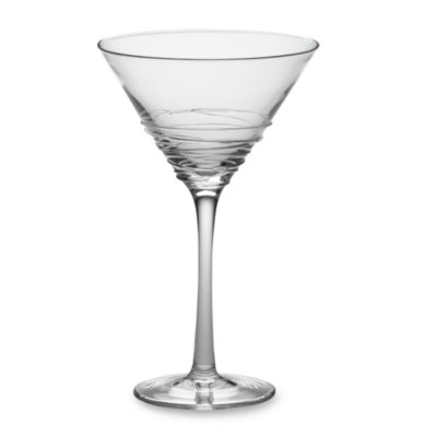 Mikasa® Swirl Martini Glass in Clear