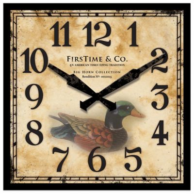 Duck Decoy Wall Clock