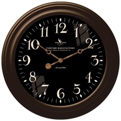 Black Decorative Wall Clocks