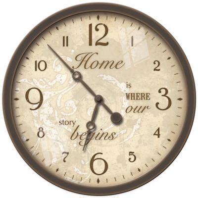 FirsTime® Sentiments Wall Clock