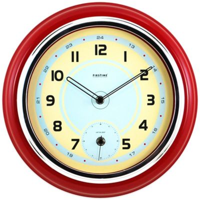 FirsTime® Classic Kitchen Wall Clock