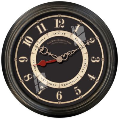 FirsTime® Seven Day Wall Clock